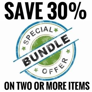 Save 30% on bundles of two or more items